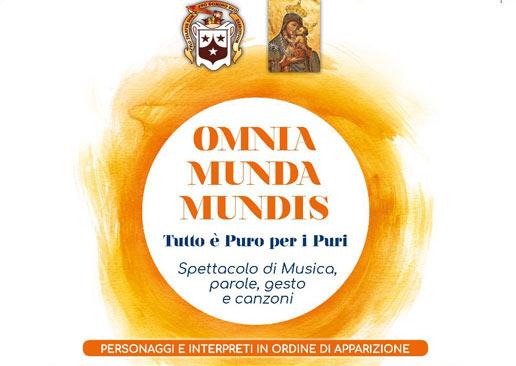 Omnia munda mundis