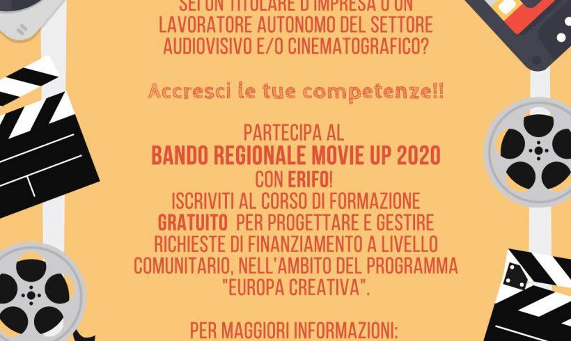 Corso per bando regionale Movie UP 2020